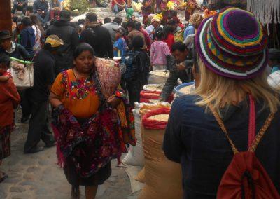 Der Markt in Chichicastenango