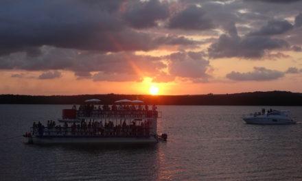 Sonnenuntergang, Musik und ein Weltrekord