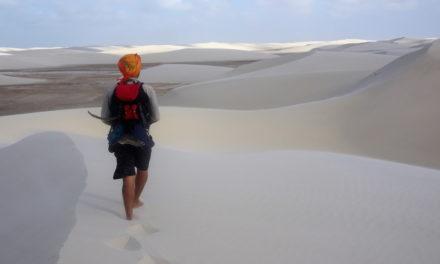 Die Geheimnisse des Sandes: 60 km Wanderung durch die Sahara Brasiliens
