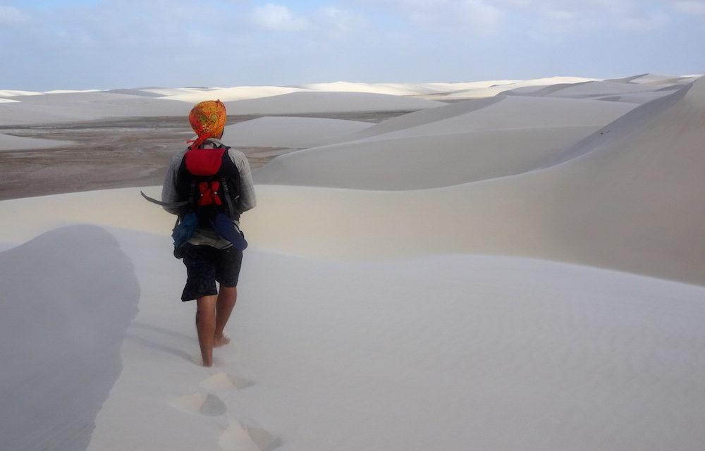 A homok titkai – hogyan gyalogoltam hatvan kilométert a sivatagban