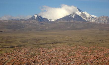 La Paz, am höchsten gelegene Millionenstadt der Welt