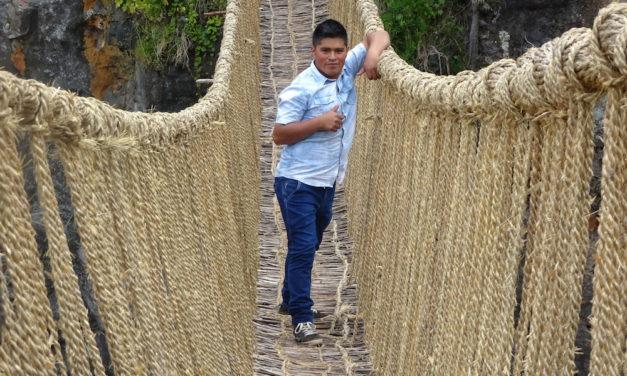 Q'eswachaka, die letzte funktionierende Hängebrücke der Inka