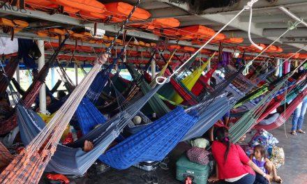 Teherhajóval Amazóniában: Tefé és környéke