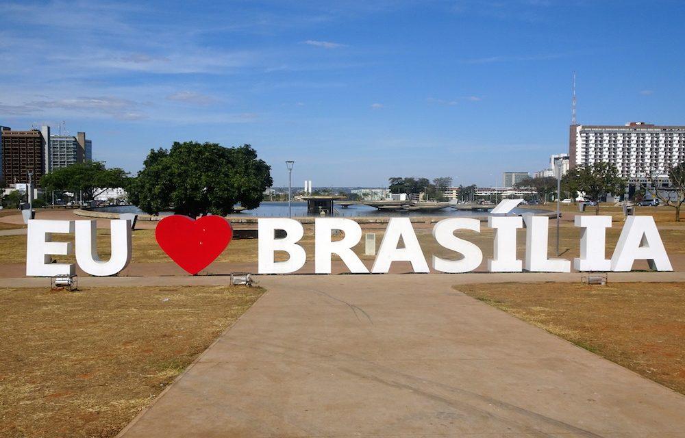 Brasília, die auf dem Reißbrett entworfene Planhauptstadt