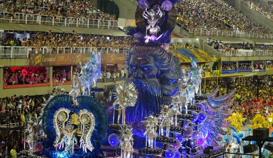 Samba-Rausch beim Karneval in Rio (Bildbericht)