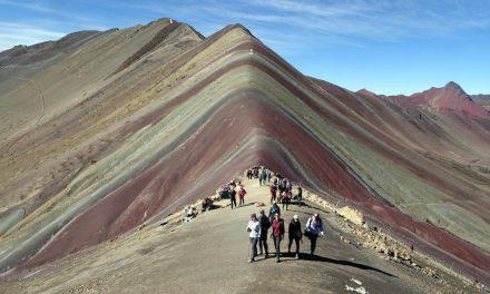 Der Rainbow Mountain und das Rote Tal (Bildbericht)