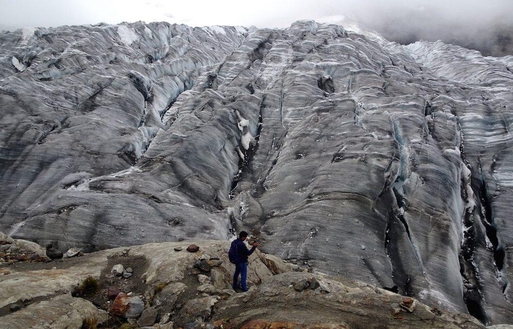 Huancayo és a Yana Ucsha gleccser