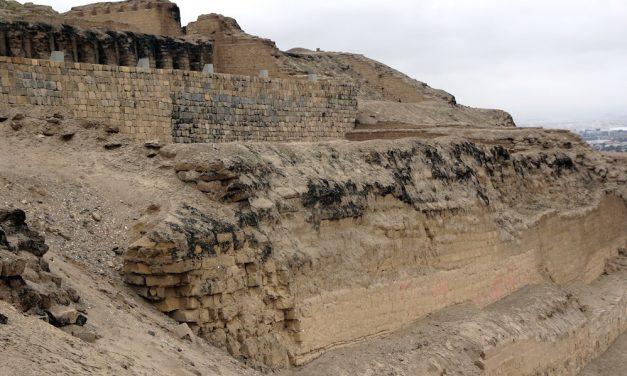 Die archäologische Stätte von Pachacamac