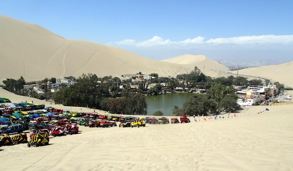 Die Oase Huacachina und die verlorene Stadt Huayuri