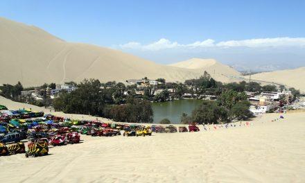A Huacachina oázis és Huayuri pre-inka romvárosa
