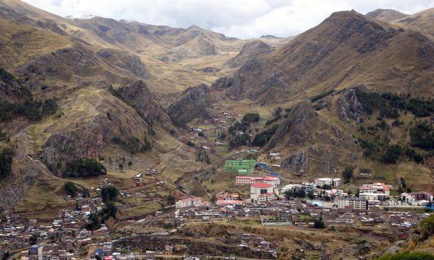 Huancavelica és a Santa Barbara higanybánya