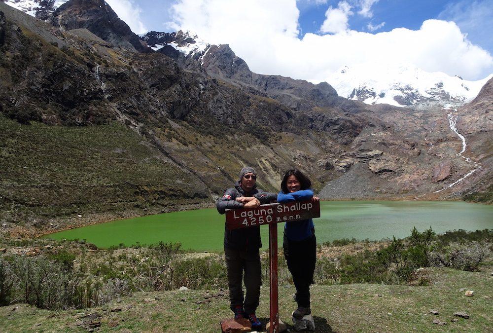 Höhenwanderungen in der höchsten tropischen Bergkette der Welt: Laguna Shallap (Bildbericht)