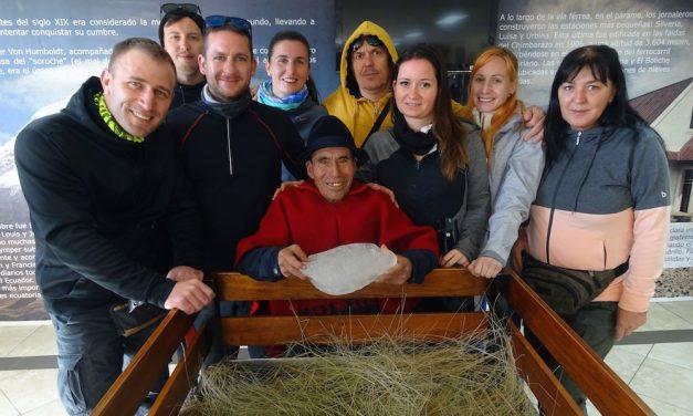 Találkozás a Chimborazo jeges emberével
