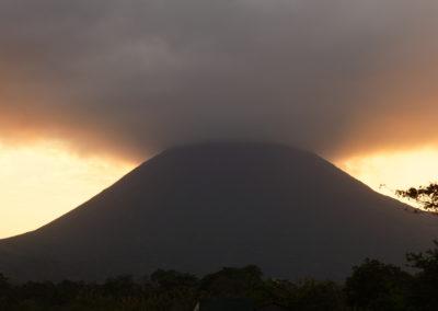 Arenal vulkán, La Fortuna