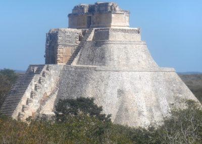 Uxmal maja romvárosa