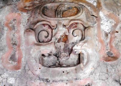 Palenque maja romvárosa