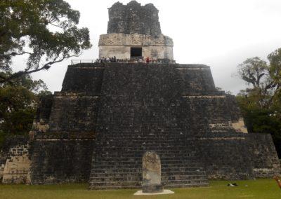 Die Ruinenstadt Tikal