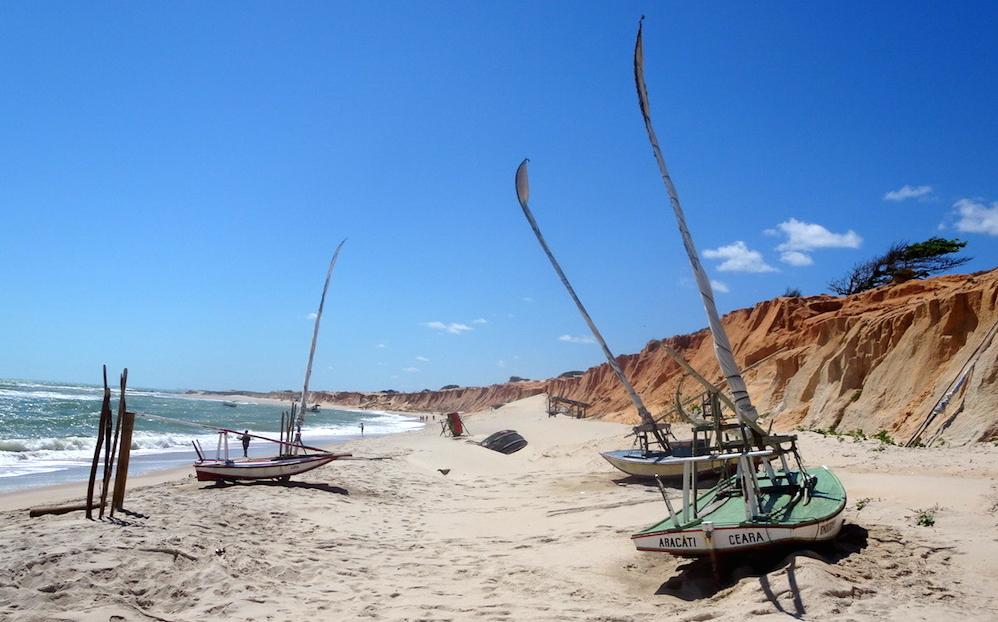 Canoa Quebrada – törött kenu szélenergiával