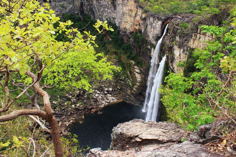 Chapada dos Veadeiros: A Rio Preto-vízesések