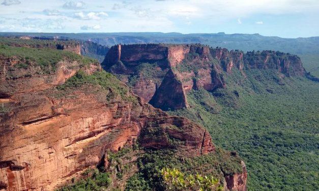 A Chapada dos Guimarães Nemzeti Park