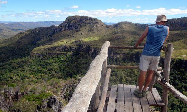 Chapada dos Veadeiros: der Abismo-Wasserfall und der Aussichtspunkt Mirante da Janela