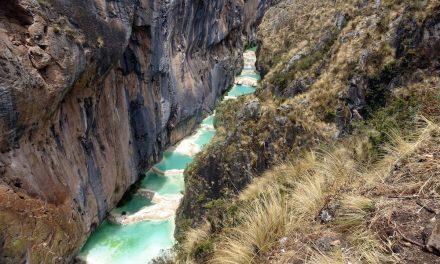 Die natürlichen Pools von Millpu