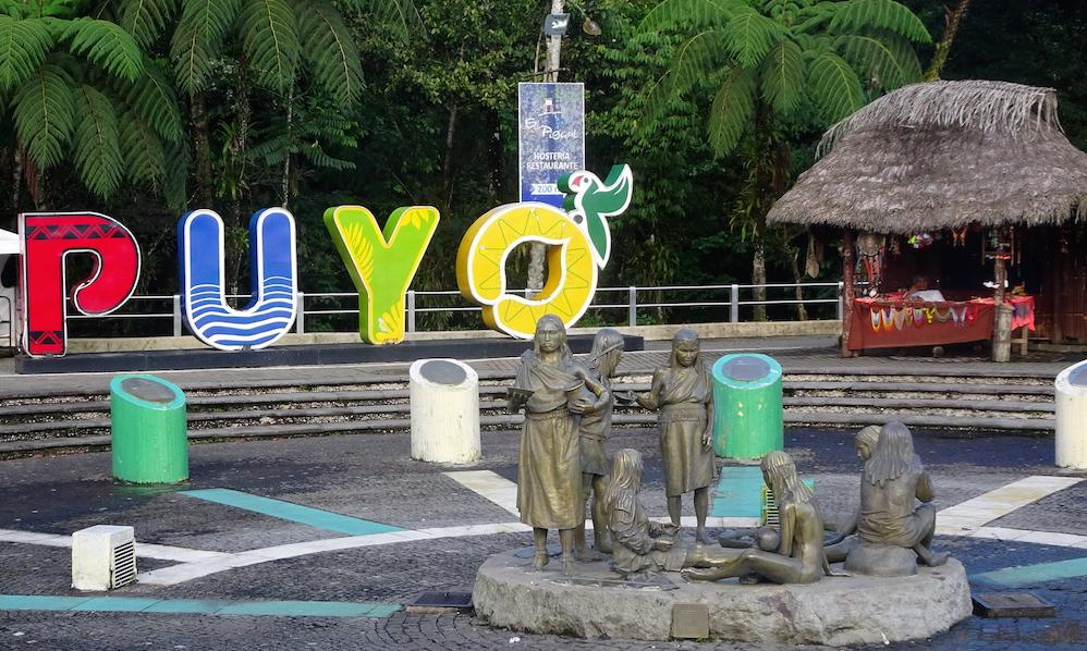 Im Amazonas-Regenwald in Ecuador: Puyo und seine Umgebung
