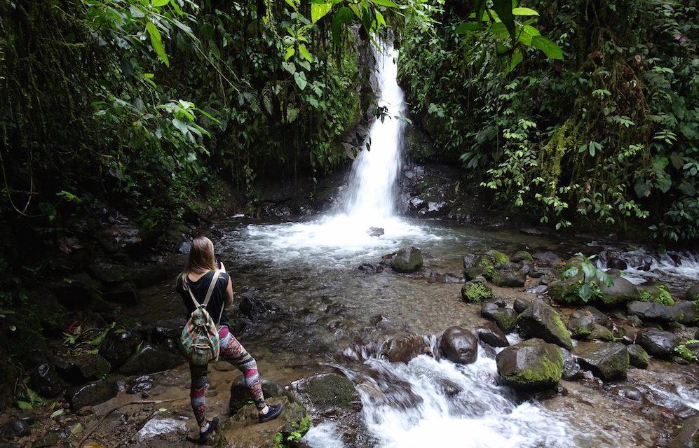 Mindo und die sieben Wasserfälle
