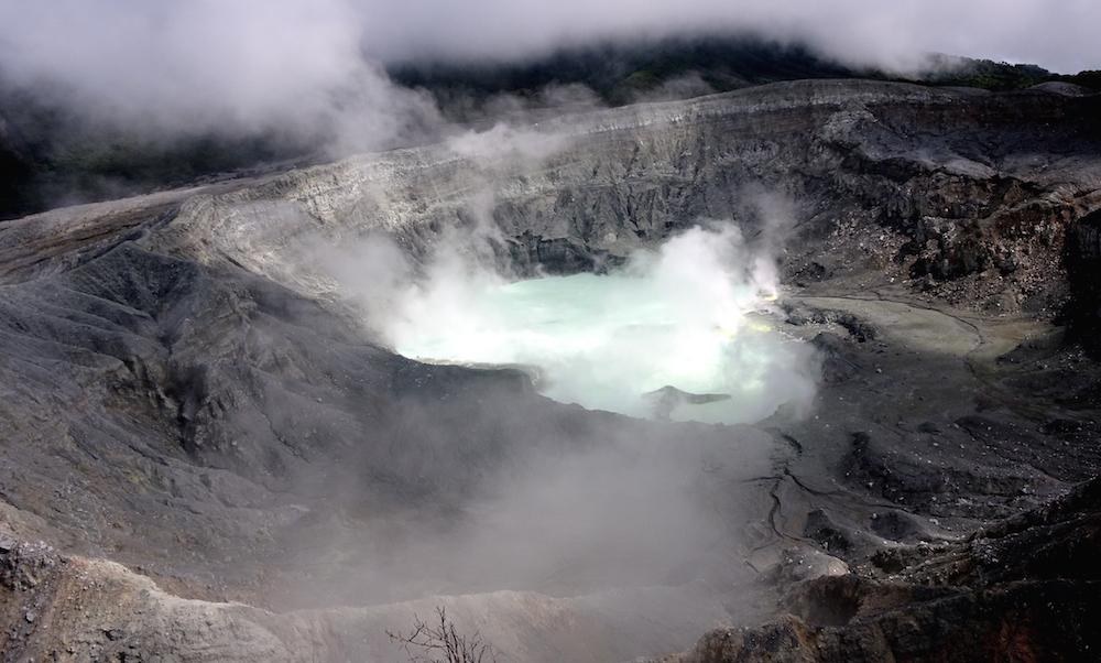 San José und seine Umgebung: der Vulkan Poás und der Mirador Cinchona